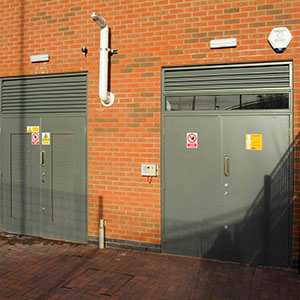 securguard steel doorset