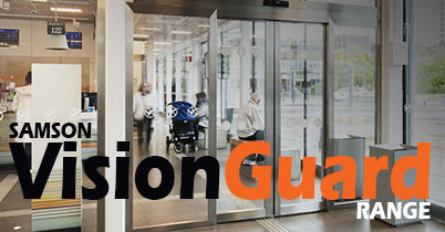 Samson VisionGuard - Steel Doors with Glazing