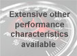 Extensive other performance characteristics