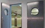 Steel Doorset with Glass Window