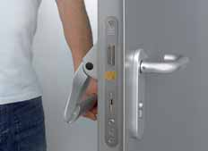 lever handle set in stainless steel