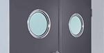 window options in steel doors