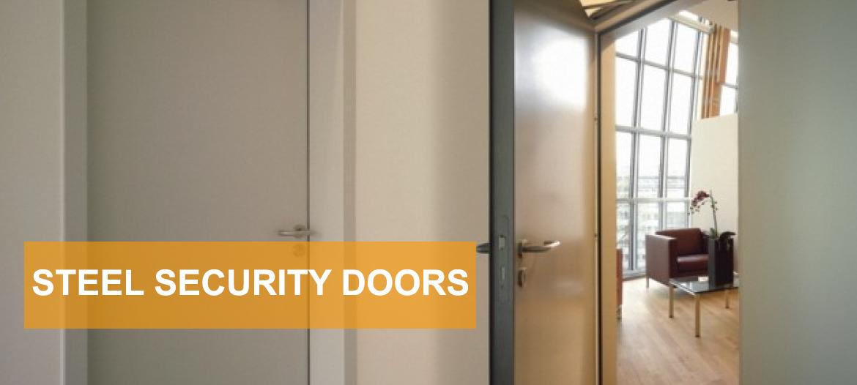 & Security Steel Doorsets - Steel Hinged Door Sets - Samson Doors UK