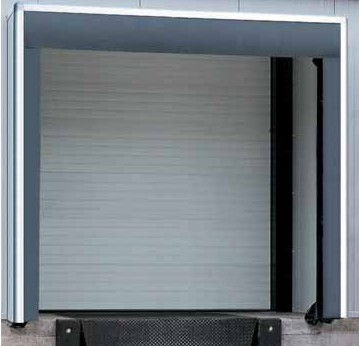 hormann DPU sectional door for protecting frozen goods
