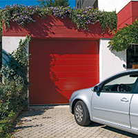 Golden Oak Sectional doors for your garage