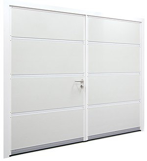 inside of carteck insulated side hinged steel door set