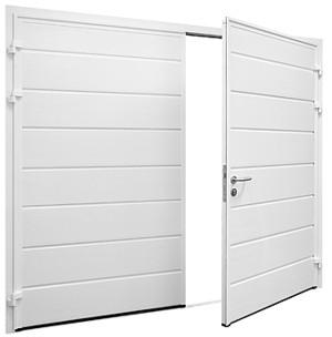 Side Hinged Garage Door Residential Garage Doors
