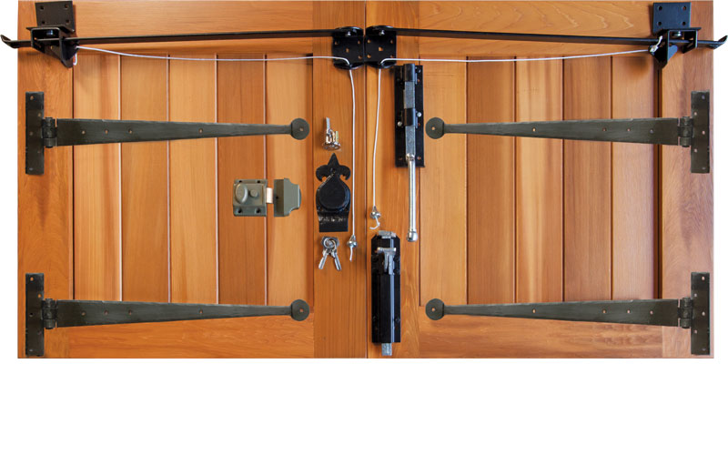 Bierton Woodrite Timber Side Hinged Garage Doors Samson Doors