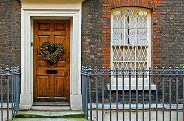 london security shutters for homes